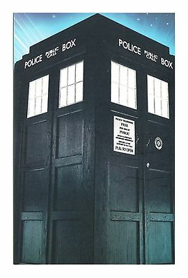 TARDIS DOCTOR WHO TIME and SPACE DR WHO FAMOUS POLICE BOX SCI-FI SERIES POSTCARD