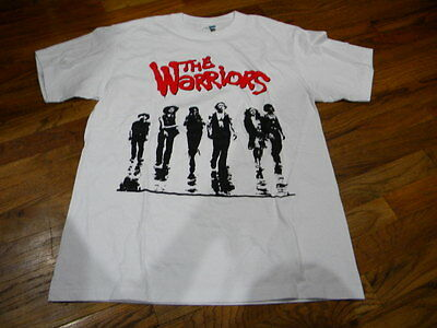 Lot Men's The Warriors Graphic Tee, White All Sizes Available S -2XL