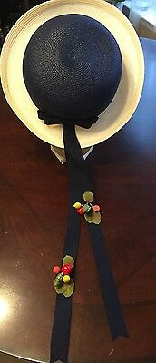 Lord & Taylor girls hat size 2-3-4 years old  Vintage?