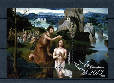 Grenada 2013 MNH Christmas 1v S/S Art Paintings Christ Joachim Patinir Stamps
