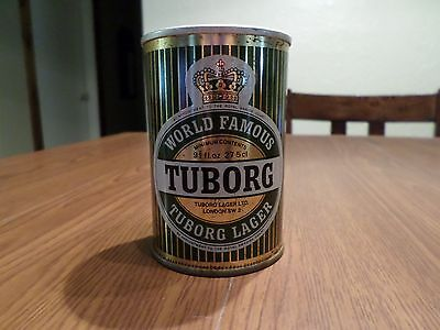 Vintage World Famous Tuborg London 275 ml Straight Steel Beer Can