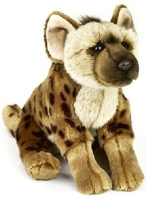 Hyena Soft Plush Toy NEW National Geographic Size: 22cm/ 9 inches long