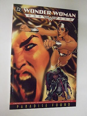 Outstanding Dc 192 Page Comic Book.wonder Woman-Paradise Found.first Print