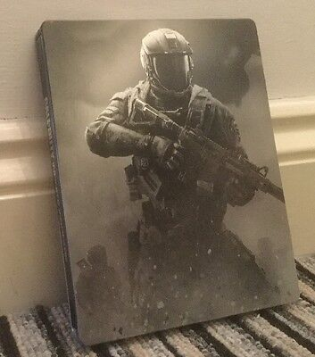 New Call Of Duty Infinite Warfare Steelbook Case Only (No Game) Ps4 Or Xbox One!