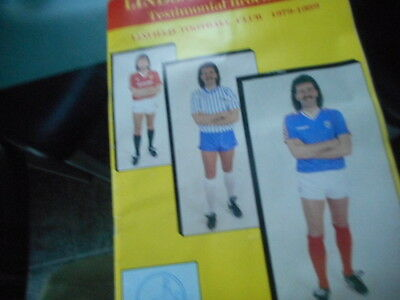 1979 LINDSAY MCKEOWN linfield f.c. testimonial programme