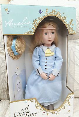 A Girl For All Time Amelia the Victorian doll