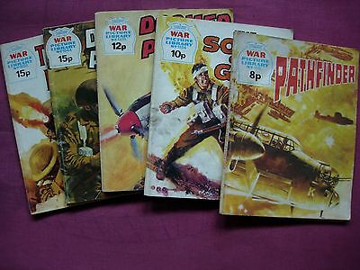 WAR Picture Library Fleetway X5 issue Job Lot 1975/79 VGC/FN