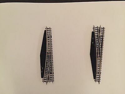 Z Scale MARKLIN - Z GAUGE - Item No. 8565 and 8566 (Left & Right Turnouts)