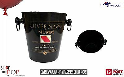 Mumm Cuvee Napa Brut Champagne Vintage Ice Bucket For Mangum or any size wine
