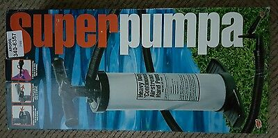 Double Action Hand Air Pump for Beds and Inflatables