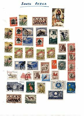 Stamps World South Africa  Used Selection