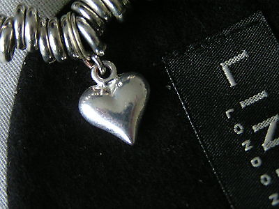 Links Of London Genuine Sterling Silver *heart* Charm - New - Org Pouch