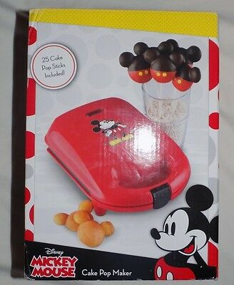 Disney Mickey Mouse & Friends Cake Pop Maker NEW