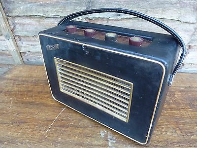 Vintage Hacker RP10 1960's Transistor Radio MW LW Working Collectable