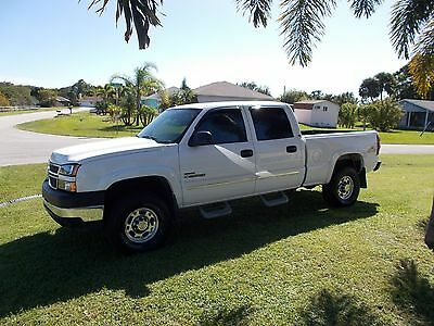 2005 Chevrolet Other Pickups lt 2005 silverado 2500 hd crew cab 4x4 pick up duramax auto trans leather seats