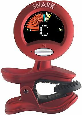 The Snark chromatic clip on tuner all instruments - Red QTSN2