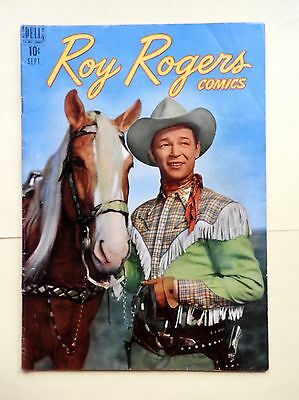 golden age comic Roy Rogers 9 1948