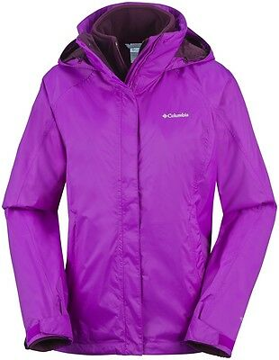 Columbia Venture On Interchange Jkt, veste 3 en 1 femme, taille L