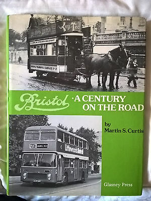 BRISTOL buses a century on the road as operator manufacturer. M S Curtis , 1977