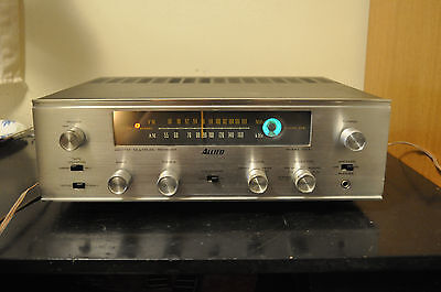 Allied Radio AM/FM Stereo Tube Receiver Model 333 6BM8 Output Tubes FULLY TESTED