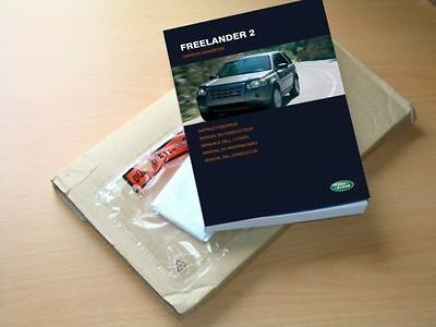 New - Freelander 2 Owners Manual Handbook 2006 - 2010, Immaculate Condition