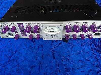 Avalon 737 Vintage Mic Microphone Preamplifier The BEST Edition Collectors RARE