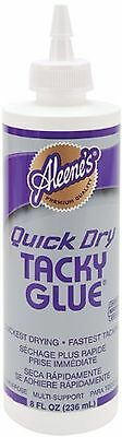 Aleene's 17843 Quick Dry Tacky Glue 8-Ounce