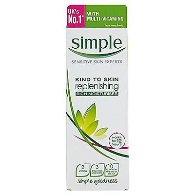 Simple Kind To Skin Replenishing Rich Moisturizer 124ml