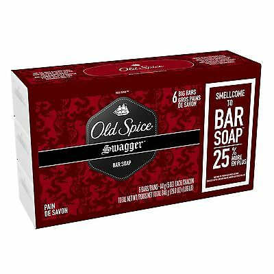 Old Spice Red Zone Swagger 6 Bar Soap 24-Ounce/678g