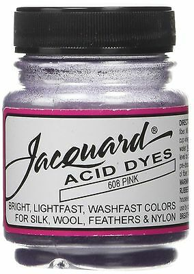 Jacquard Products JAC-608 Sewing Acid Dyes 1/2 Ounce-Pink