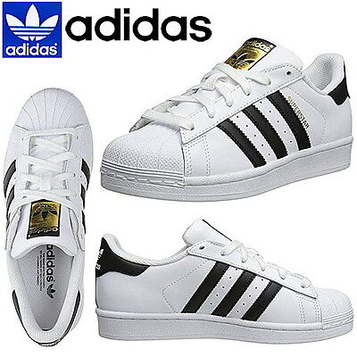 Adidas Originals Superstar Junior White Sneakers Adidas Superstar C77154 NEW