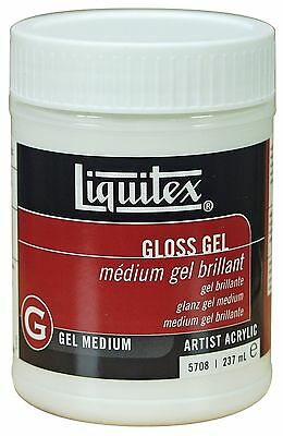 Reeves Liquitex 8-Ounce Gloss Medium Gel