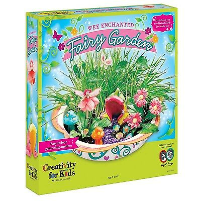 Creativity For Kids Enchanted Fairy Garden Kit