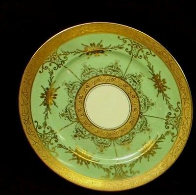 Heinrich & Company Selb Bavaria Gold Encrusted Charger Plate