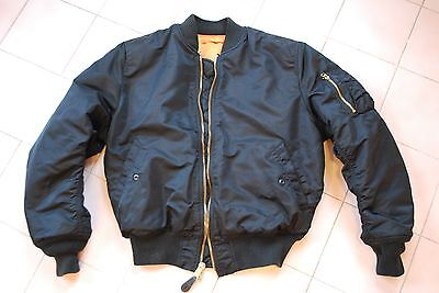 alpha industries bomber MA1 made in USA noir taille M