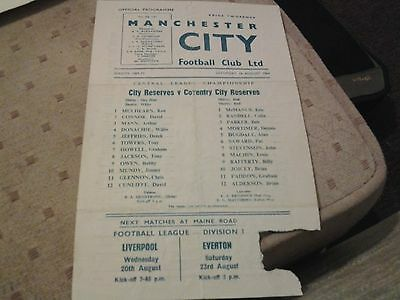 manchester city  coventry l 69.70 reserves lge