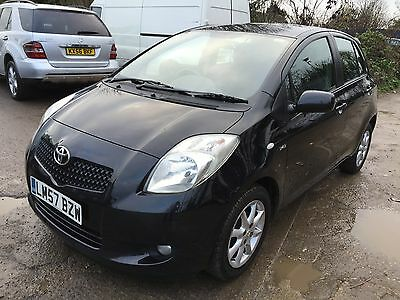 2007/57 Toyota Yaris Sr D4-D S-A Black **1 Owner From Brand New!!*** Fabulous