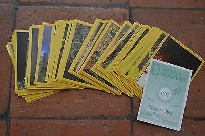 Lot de 103 images Panini NATIONAL GEOGRAPHIC