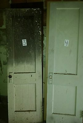 Vintage 1930s solid wood doors. 20 doors total