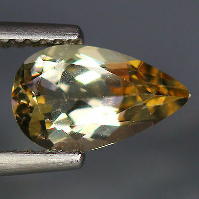 1.32 Cts_Wow Unbelivable Brazilian Gemstone_100 % Natural Heliodore Yellow Beryl