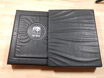 (3296) Wwf Stamp & Cover Collection In Album + Slipcase