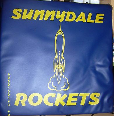BUFFY The Vampire Slayer PROP SUNNYDALE ROCKETS PILLOW /PIN UP S4