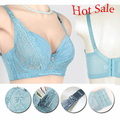 a3cc599ad3dad WOMEN S PUSH UP Silk bra Mulberry Bras Wire Free Solid Plus Size 34 ...