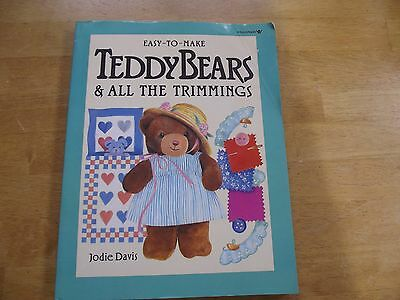 Teddy Bears & All The Trimmings Paperback 1988