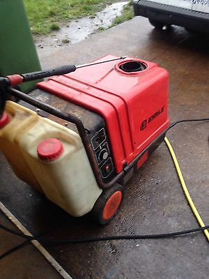 EHRLE HOT AND COLD PRESSURE WASHER STEAM CLEANER SPARES OR REPAIR,please Read Ad