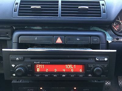 Audi A4 B6 1.9 Tdi 2002 Cd Radio Head Unit 8E0035186