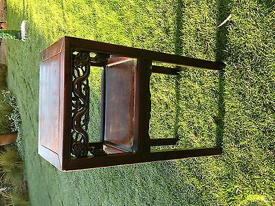 Antique Hardwood Chinese Stand/table