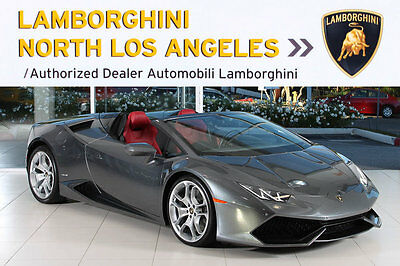 2016 Lamborghini Huracan  NAV+RR CAM+BRANDING+PWR HEATED SEATS+LIFT SYS+SPORT EXHAUST+CRUISE CONTROL