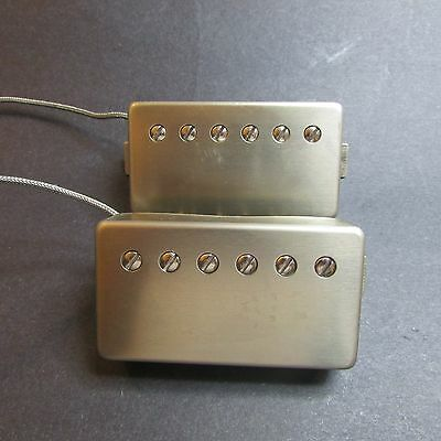 Hand crafted specialty PAF pickup set in raw nickel