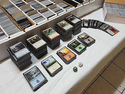Magic The Gathering Collection For Collectors 1600 Cards Bulk MTG NM + PL